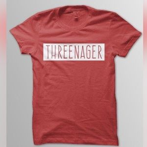 Other - Threenager shirt